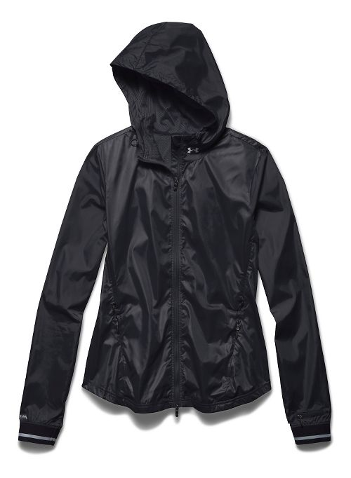 Womens Under Armour Storm Layered Up Cold Weather Jackets - Black/Black L
