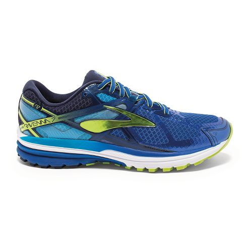 Mens Brooks Ravenna 7 Running Shoe - Blue 9.5