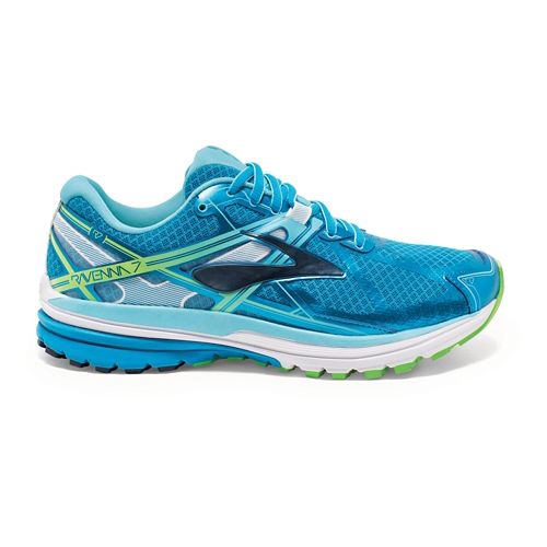 Womens Brooks Ravenna 7 Running Shoe - Hawaiian Ocean 7.5