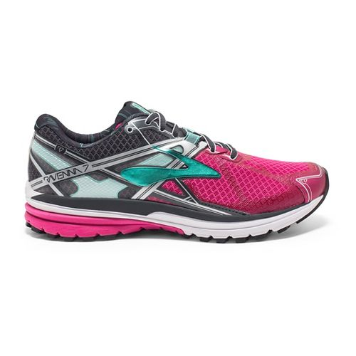 Womens Brooks Ravenna 7 Running Shoe - Purple/Anthracite 6.5
