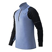 Mens New Balance Performance Merino Half Zip Long Sleeve Technical Tops
