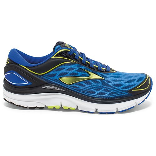Mens Brooks Transcend 3 Running Shoe - Blue 7.5