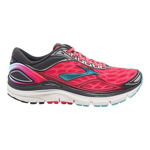 Womens Brooks Transcend 3 Running Shoe - Pink 5
