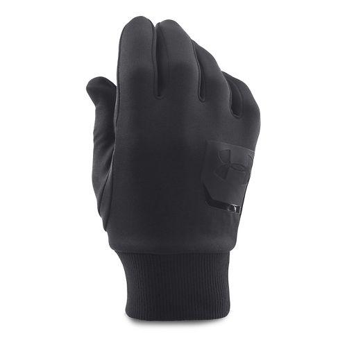 Mens Under Armour Core Coldgear Infrared Liner Glove Handwear - Black XL