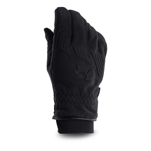 Mens Under Armour Coldgear Infrared Convex Glove Handwear - Black XL