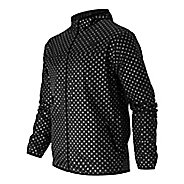 Mens New Balance Windcheater Dot Lightweight Jackets