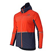 Mens New Balance Beacon Warm Up Hooded Jackets