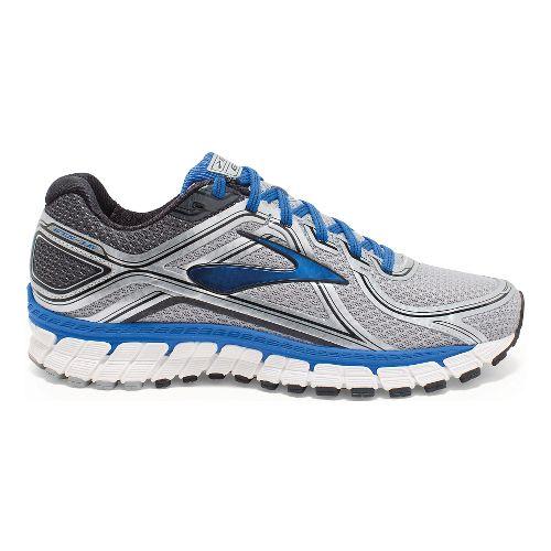 Mens Brooks Adrenaline GTS 16 Running Shoe - Silver/Blue 11