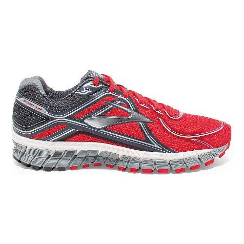 Mens Brooks Adrenaline GTS 16 Running Shoe - Red/Anthracite 10