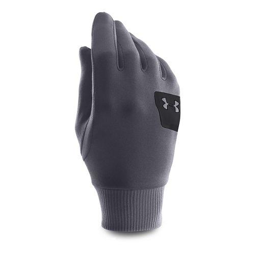 Under Armour Kids Core ColdGear Infrared Liner Glove Handwear - Black/Stealth Grey YS