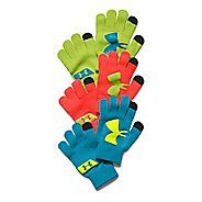 Kids Under Armour Chillz Neon Glove 3PK Handwear