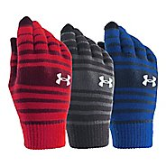 Kids Under Armour Chillz Stripe Glove 3PK Handwear