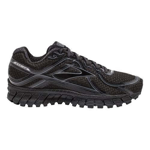 Womens Brooks Adrenaline GTS 16 Running Shoe - Black 9.5