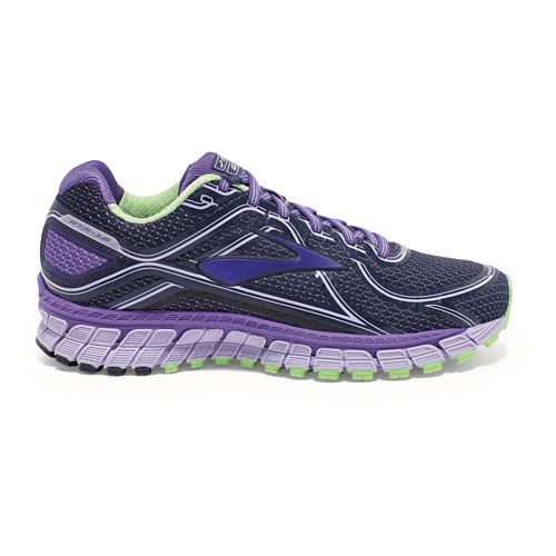 Womens Brooks Adrenaline GTS 16 Running Shoe - Purple 6.5