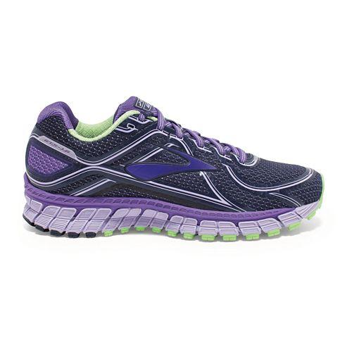 Womens Brooks Adrenaline GTS 16 Running Shoe - Purple 8