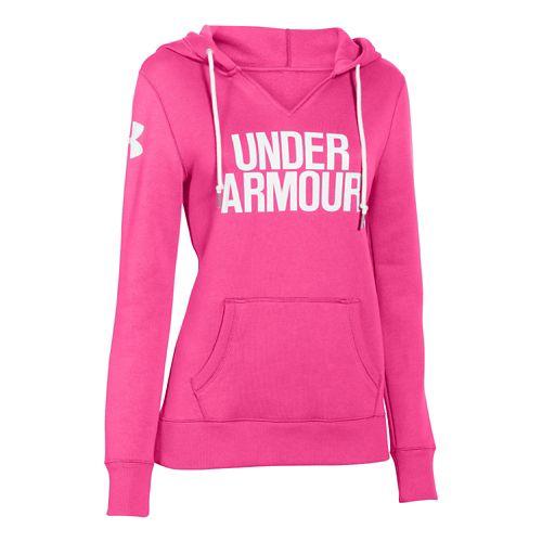 Women's Under Armour�Favorite Fleece Wordmark Hoody