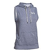 Womens Under Armour Favorite Fleece Hoody Vest Sleeveless & Tank Tops Technical Tops