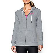 Womens Under Armour Favorite Fleece Full-Zip Warm Up Hooded Jackets