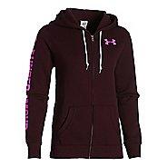 Womens Under Armour Favorite Fleece Full-Zip Warm Up Hooded Jackets