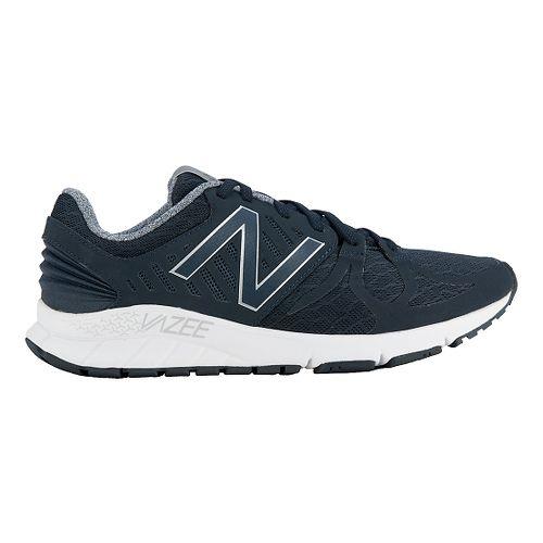 Mens New Balance Vazee Rush Running Shoe - Black/White 11.5