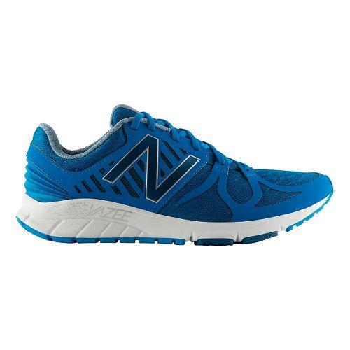 Mens New Balance Vazee Rush Running Shoe - Blue/White 7.5