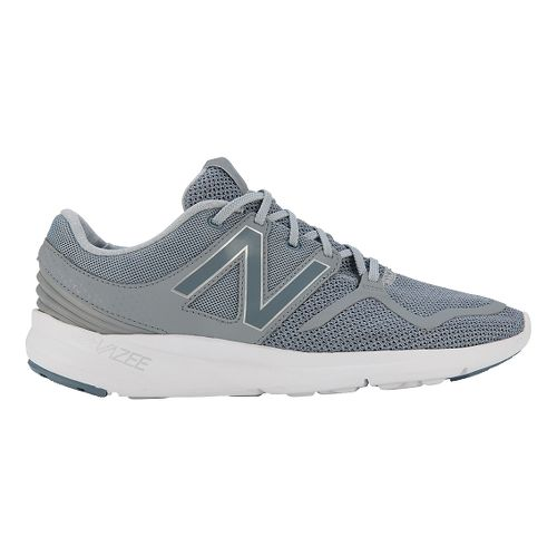 Mens New Balance Vazee Coast Running Shoe - Grey/White 10.5