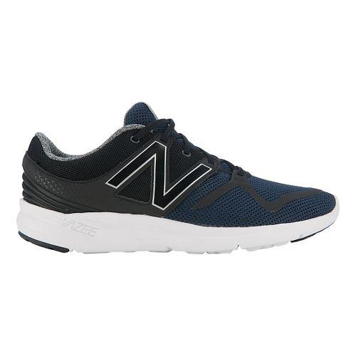 Mens New Balance Vazee Coast Running Shoe - Black/White 10