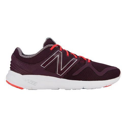 Mens New Balance Vazee Coast Running Shoe - Burgundy/Orange 9
