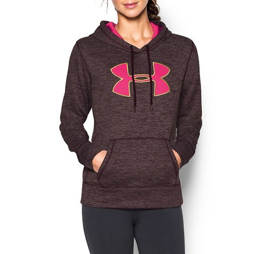 Women's Under Armour�Storm Armour Fleece Printed Big Logo Twist Hoody