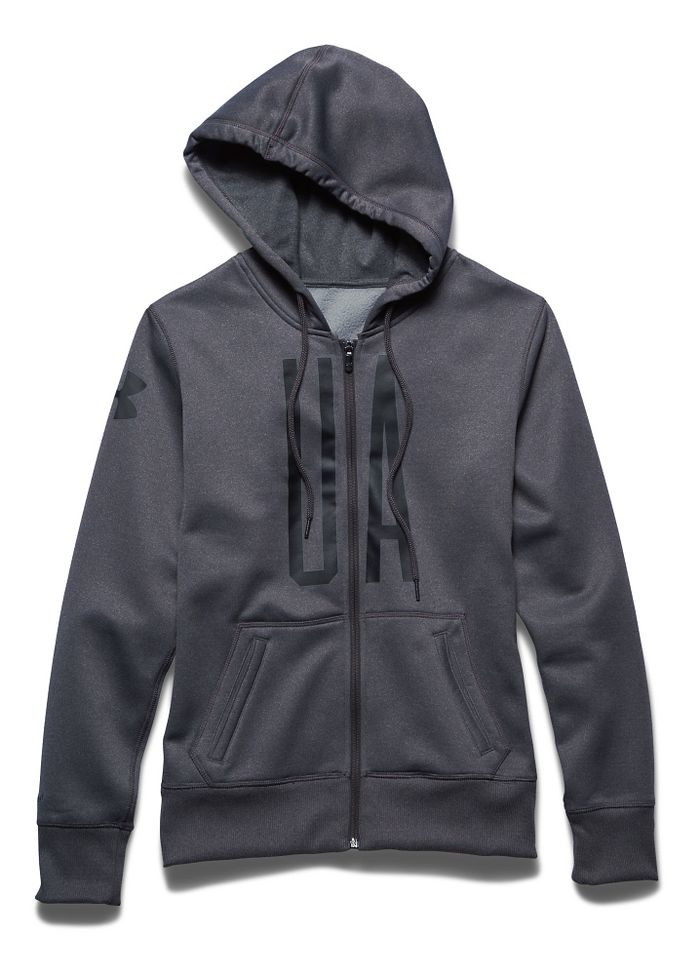 Under Armour Storm Armour Fleece Full-Zip Graphic Warm Up Hooded Jacket