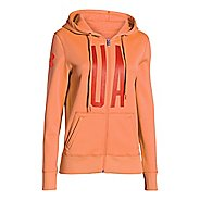 Womens Under Armour Storm Armour Fleece Full-Zip Graphic Warm Up Hooded Jackets