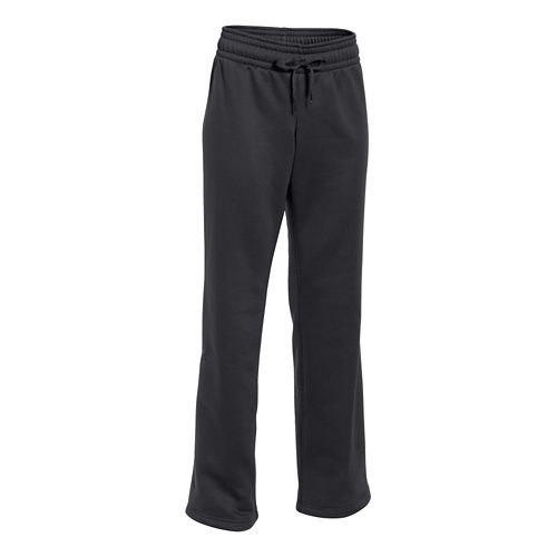 Womens Under Armour Storm Armour Fleece Pant Long 34 Inch Full Length Pants - Black/Black ...