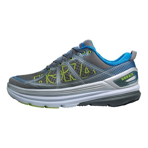 Mens Hoka One One Constant 2 Running Shoe - Grey/Blue 7