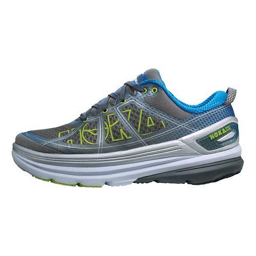 Mens Hoka One One Constant 2 Running Shoe - Grey/Blue 8