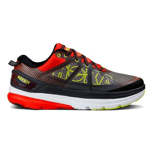 Mens Hoka One One Constant 2 Running Shoe - Grey/Red 11.5