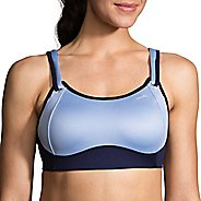Womens Brooks Fiona Sports Bra - Seaglass/Navy 30DD