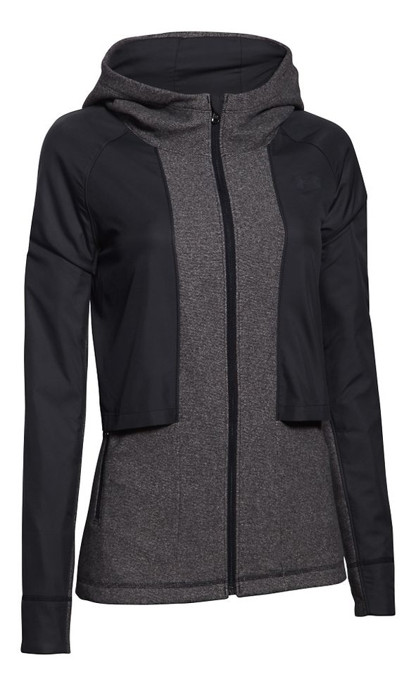 Under Armour Survivor Hybrid Full-Zip Warm Up Hooded Jacket