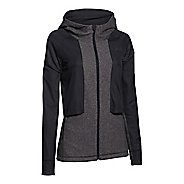 Womens Under Armour Survivor Hybrid Full-Zip Warm Up Hooded Jackets