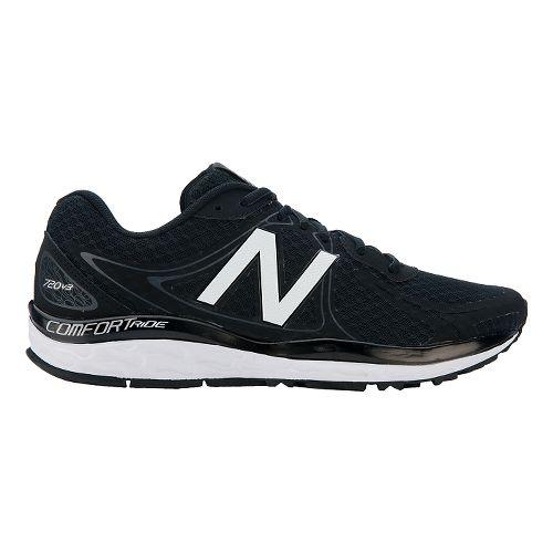Mens New Balance 720v3 Running Shoe - Black/Grey/Silver 10.5