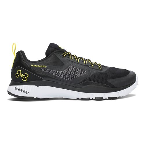 Mens Under Armour Charged One Cross Training Shoe - Black/Sunbleached 10.5