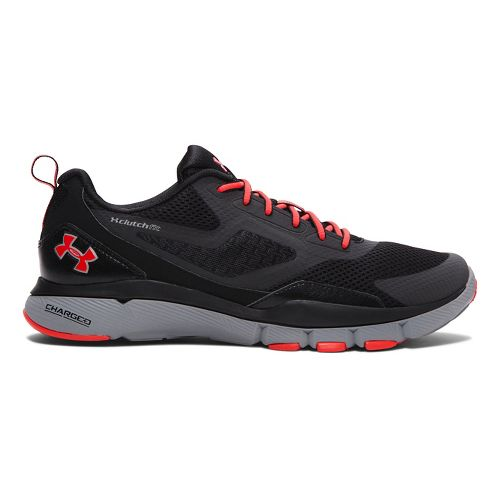 Mens Under Armour Charged One Cross Training Shoe - Black/Steel 8