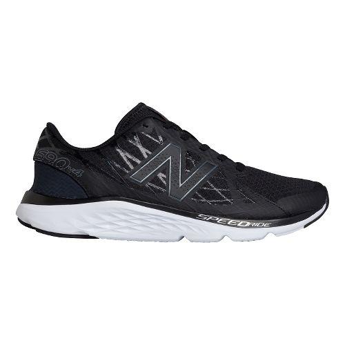 Mens New Balance 690v4 Running Shoe - Lead/Black 14