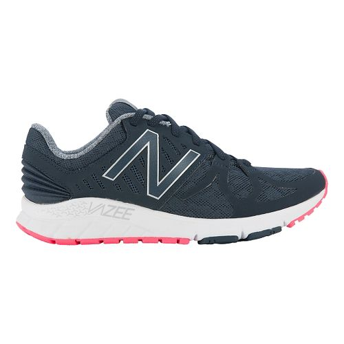 Womens New Balance Vazee Rush Running Shoe - Black/Pink 10.5