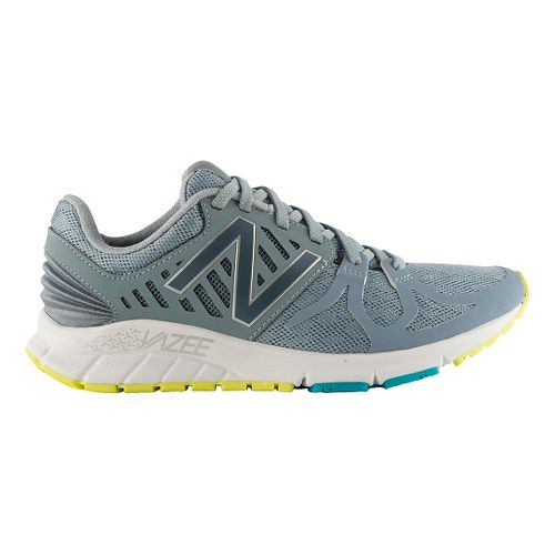 Womens New Balance Vazee Rush Running Shoe - Grey/Blue 10
