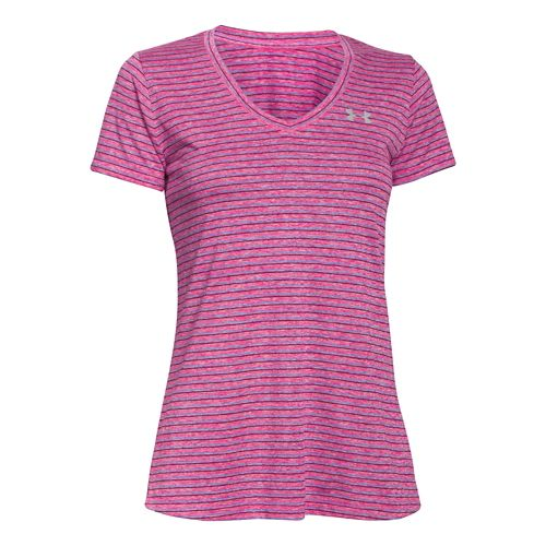Women's Under Armour�Tech Heather Stripe V-Neck