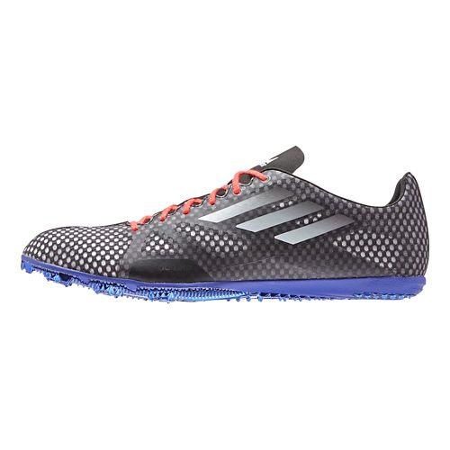 Mens adidas Adizero Ambition Track and Field Shoe - Black/Night Metallic 9