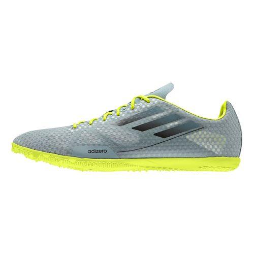 Mens adidas Adizero Ambition Track and Field Shoe - Green Earth/Metallic 14