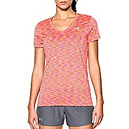 Womens Under Armour Tech Disruptive Space Dye Shortsleeve Technical Tops