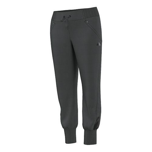Womens adidas City Energy Full Length Pants - Solid Grey M