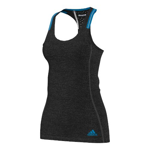 Womens adidas Supernova Chill Tank Technical Tops - Black/Chill Blue XS